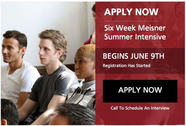 2017 meisner summer intensive begins